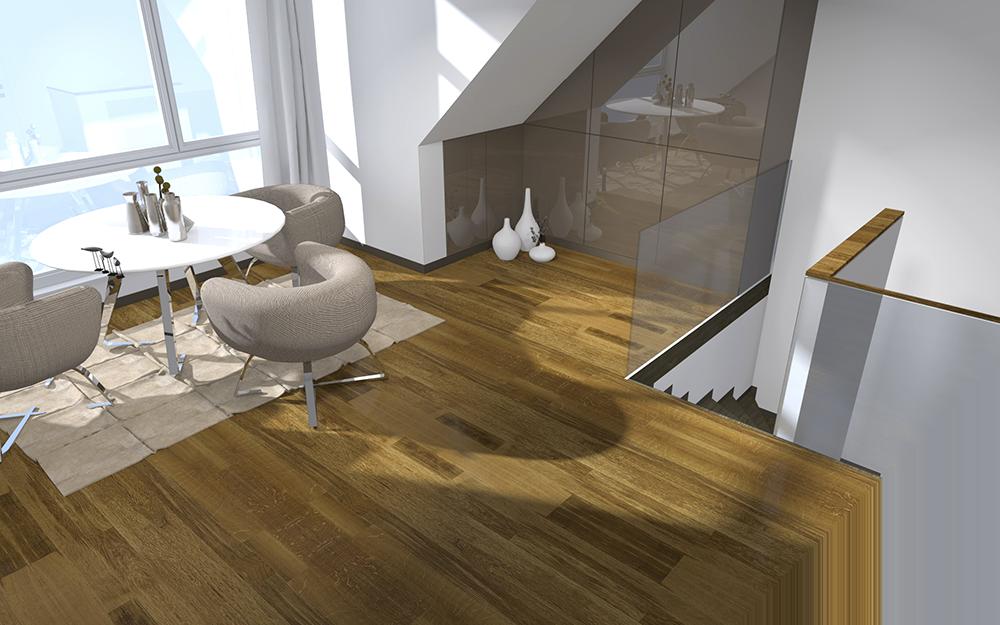 Rendu d'un projet 3D de l'Atelier Compostelle
