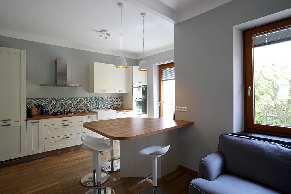 Maison Briand, cuisine et table