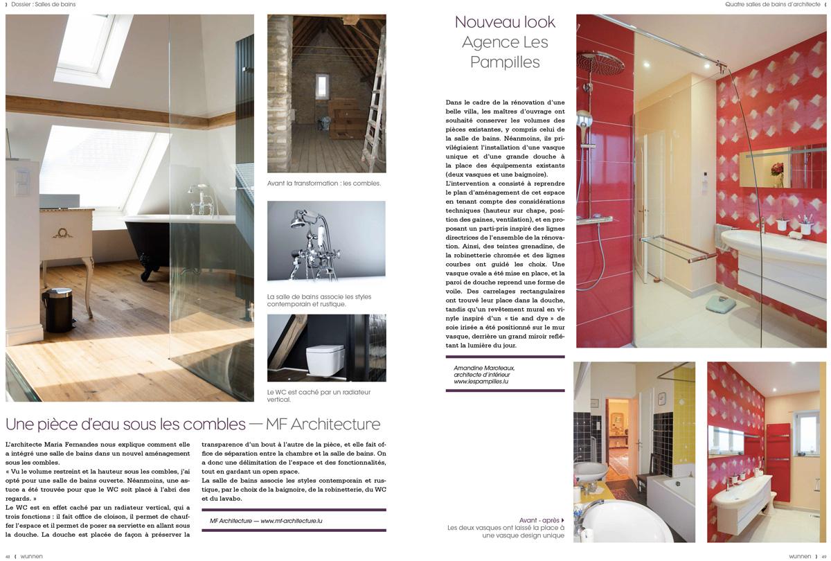 Wunnen 46, Salles de bains d'architectes page 49