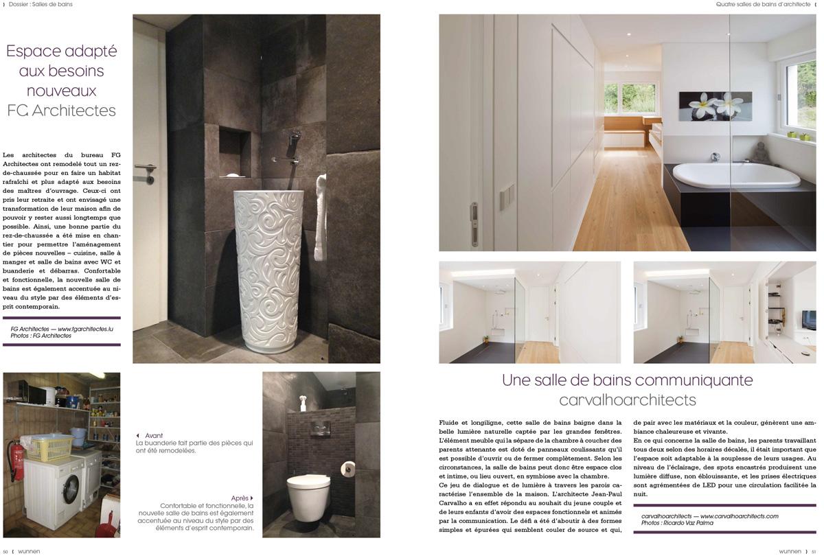 Wunnen 46, Salles de bains d'architectes page 51