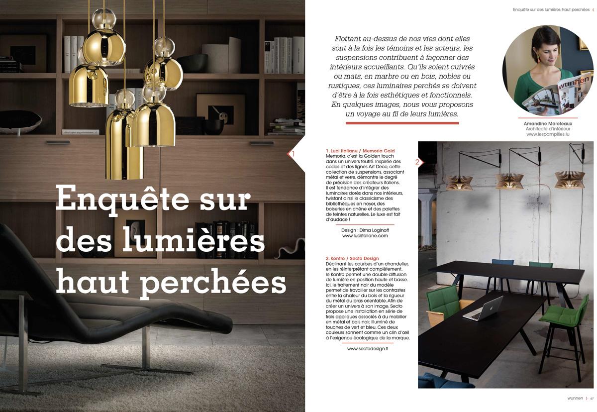 wunnen 48, Lumières haut perchées page 67