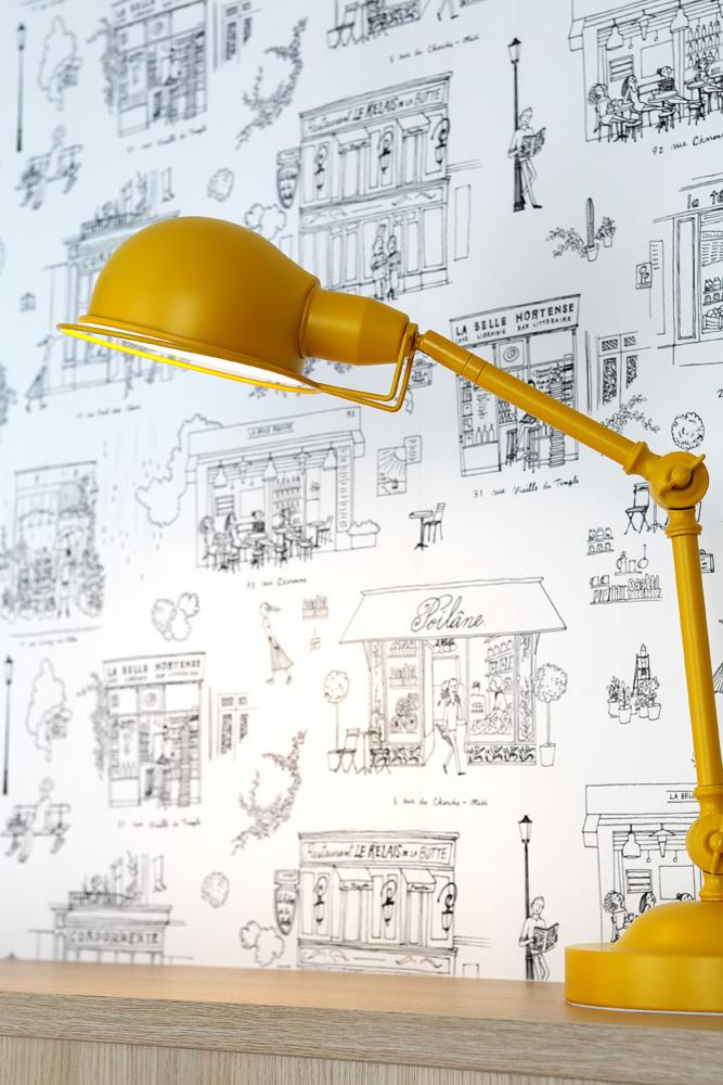 Atelier compostelle Villa Patchouli lampe