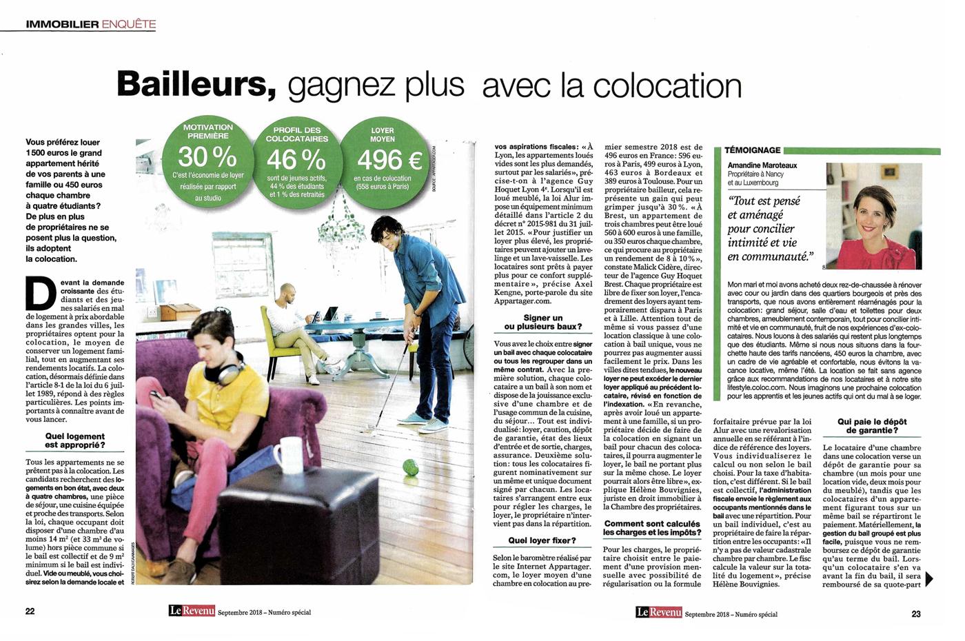 Presse - Amandine Maroteaux