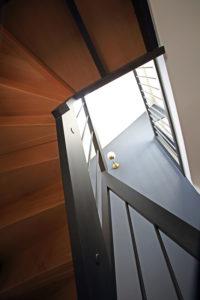 Escalier décoration et couleurs