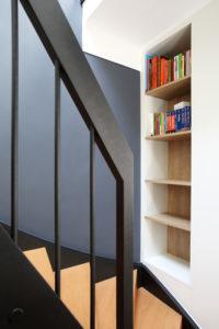 Mezzanine décoration et bibliothèque