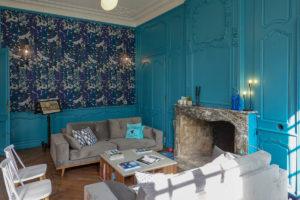 Palais de Vaucouleurs - Salon intérieur