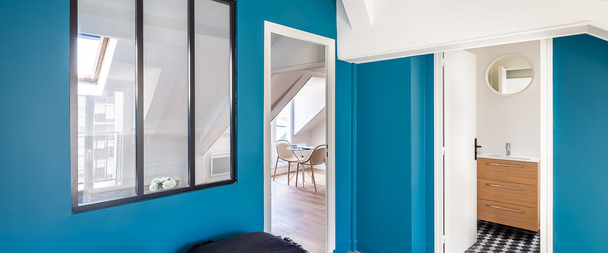 Atelier Compostelle • Studio Rue Dumoncel, Paris