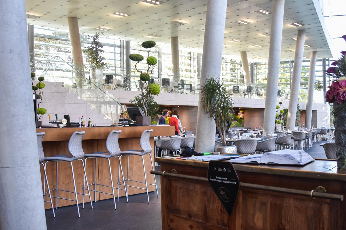 Le Belvédère aménagement bar