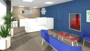 atelier compostelle - cube desk