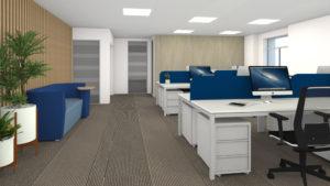 atelier compostelle - cube Open space