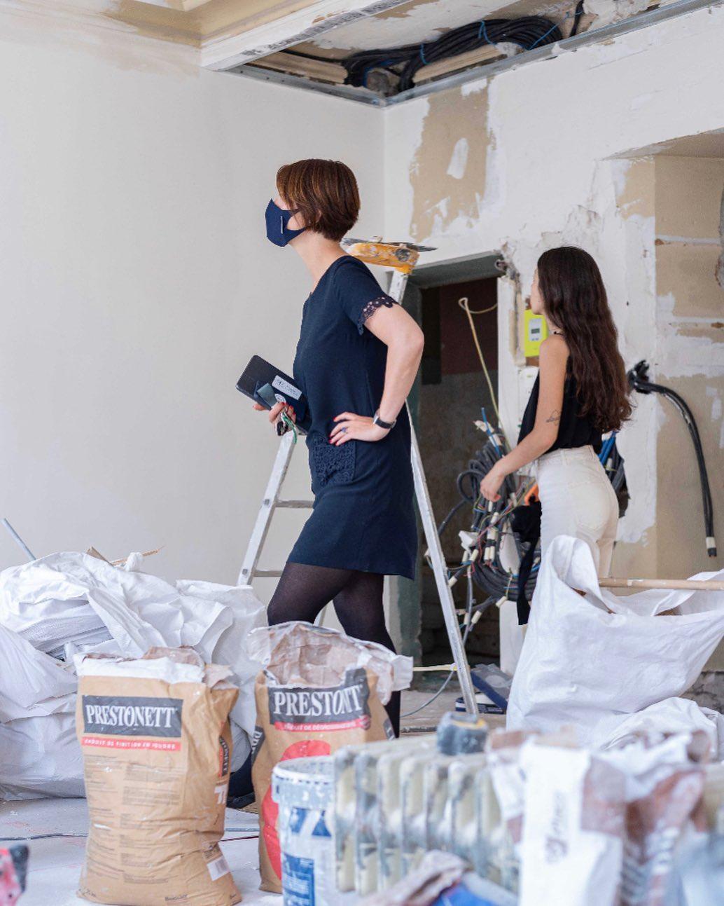 Amandine Maroteaux rénovation