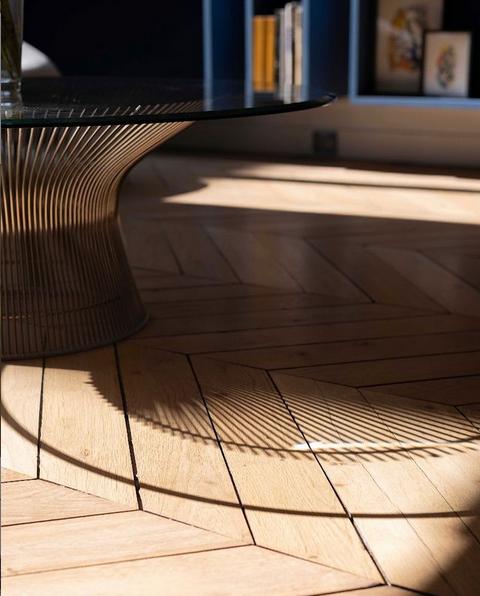 Image instagram parquet table